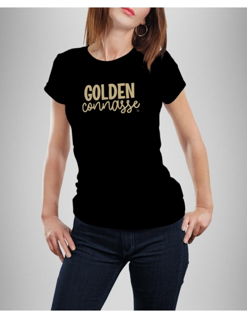 T-shirt Golden Connasse