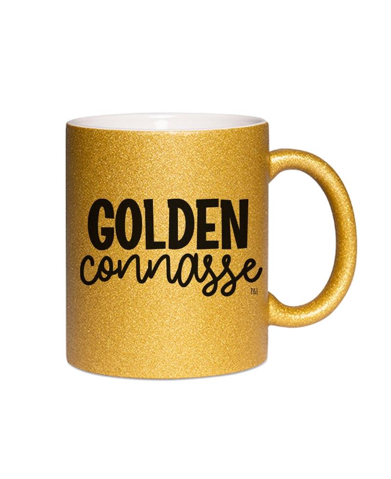 Mug Paillette Golden Connasse