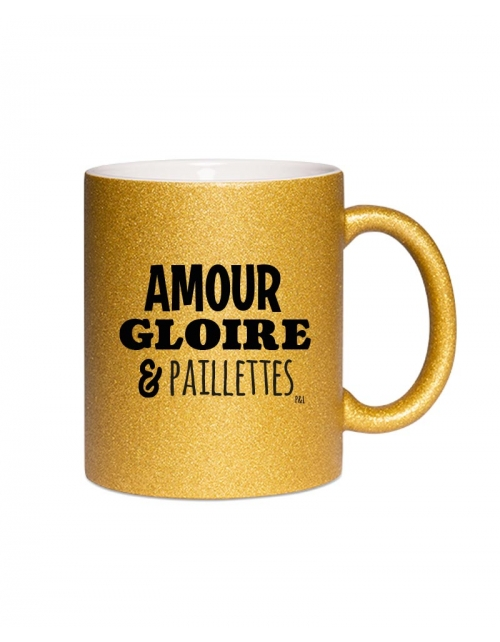 Mug - Amour Gloire & Paillettes