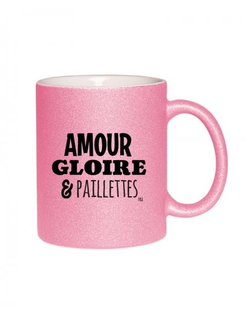 Mug - Amour Gloire & Paillette