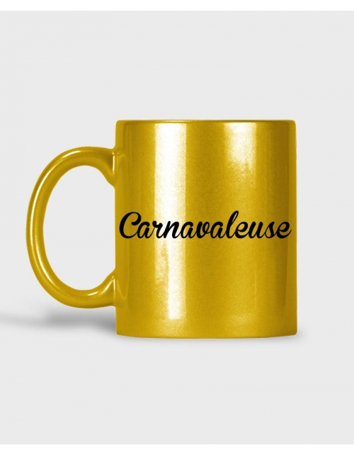Mug - Carnavaleuse Or