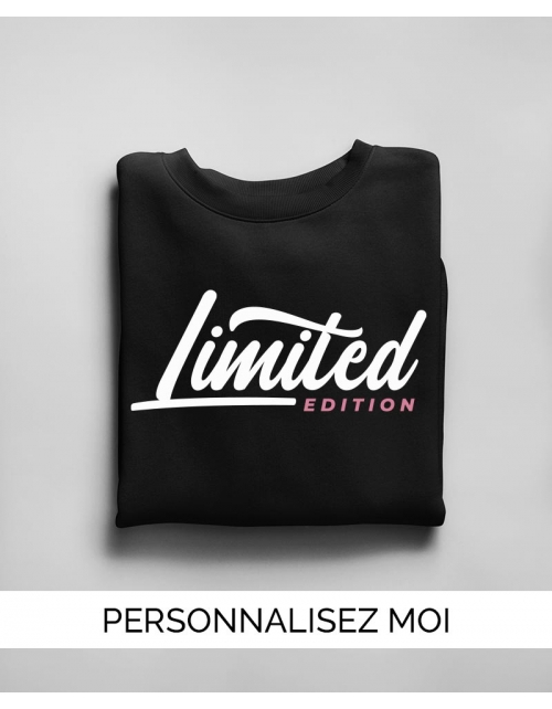 Sweat Femme Limited Edition