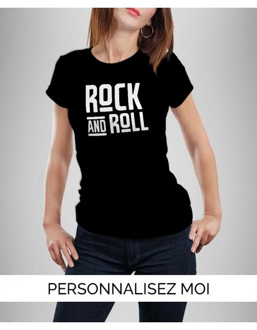 T-shirt Rock N Roll Femme