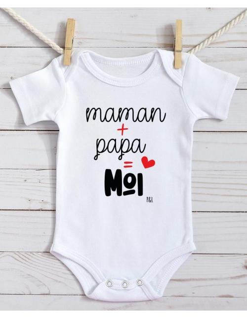 Body Bébé - Maman Papa Moi