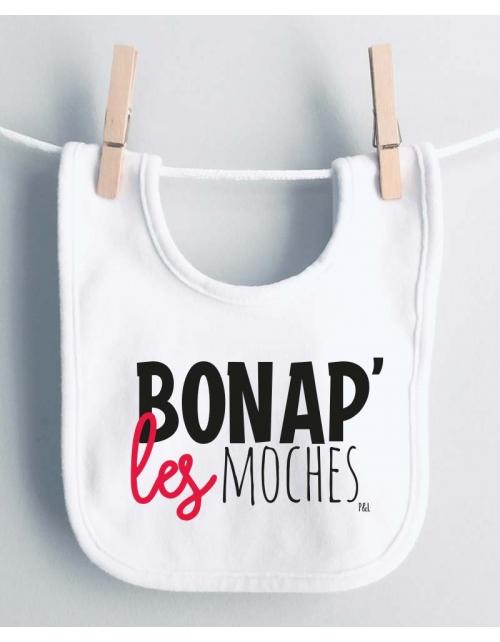 Bavoir Bon Ap' les Moches