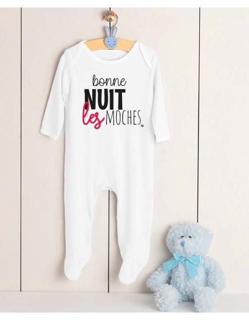 Pyjama Bébé Bonne Nuit les Moches