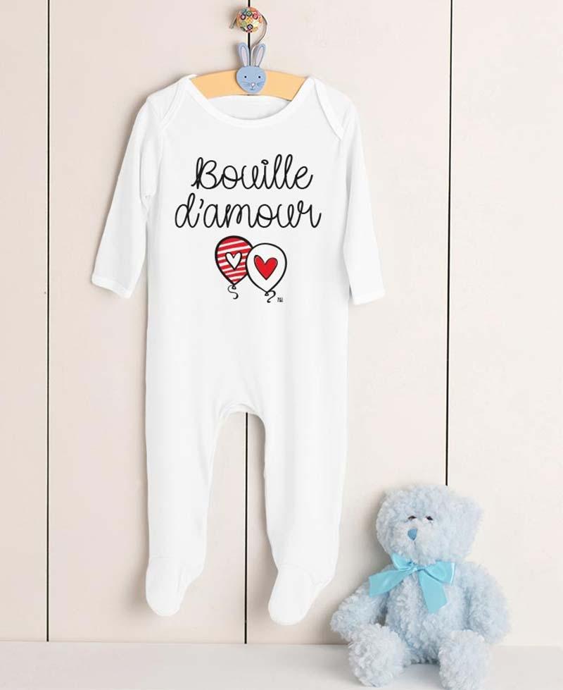 Pyjama Bouille d'amour