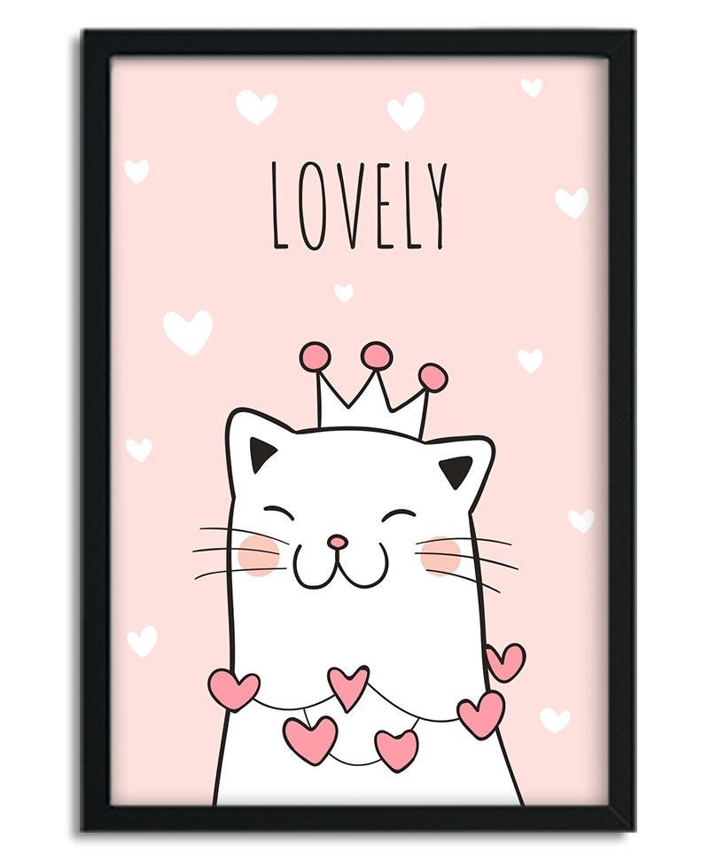 Affiche Lovely Cat