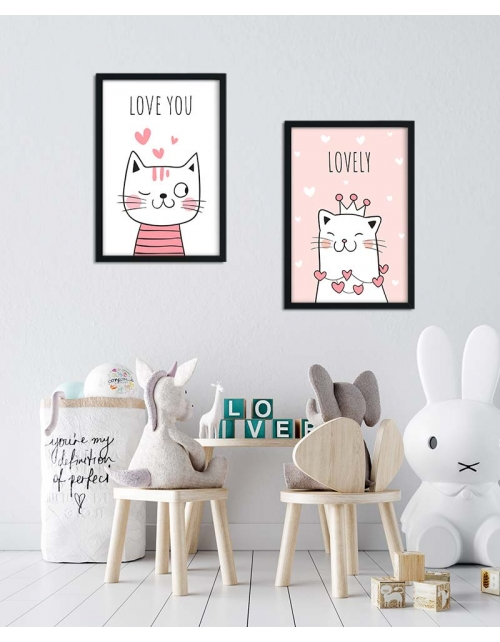 Affiche Lovely Cat