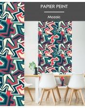 Papier Peint Mozaic