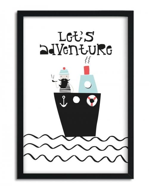 Affiche Let's Adventure