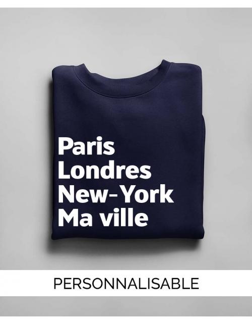 Sweat Paris Londres NY Ma Ville