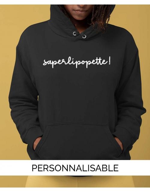 Hoodie Saperlipopette
