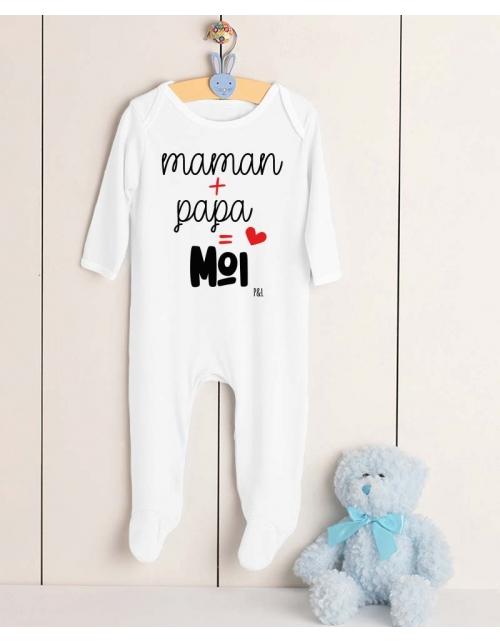 Pyjama Maman Papa Moi
