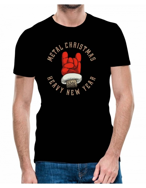 T-shirt Métal Christmas