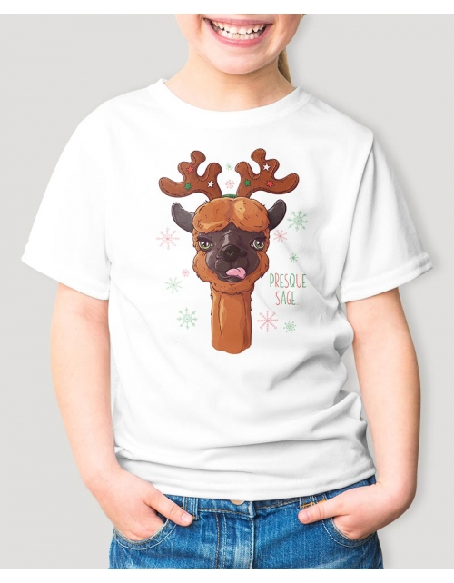 T-Shirt Lama Edition Noël