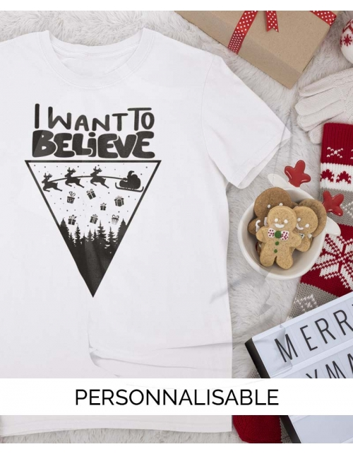 T-shirt enfant Believe Noel