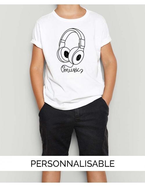 T-shirt Enfant Music