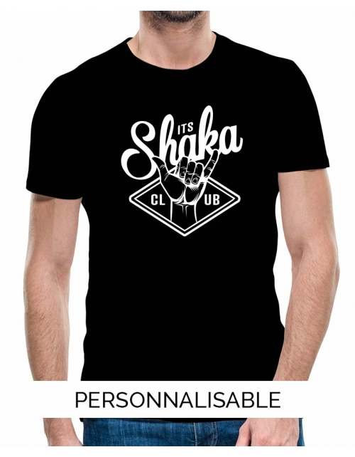 T-shirt surf Shaka Personnalisable