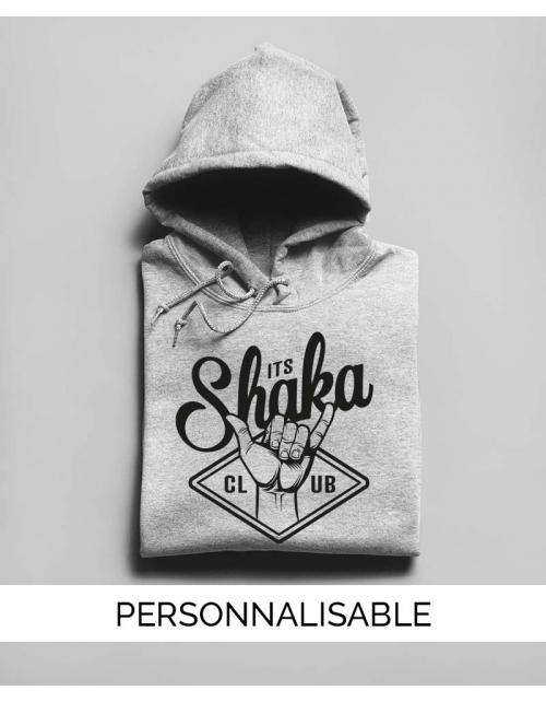 Sweat à capuche Surf personnalisé Shaka