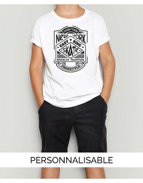 T-shirt enfant New York Skate