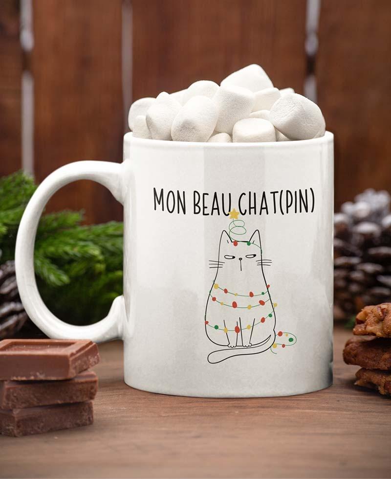 Mug - Chat(pin) Edition Noël