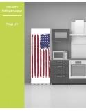 Sticker pour frigo - Drapeau USA