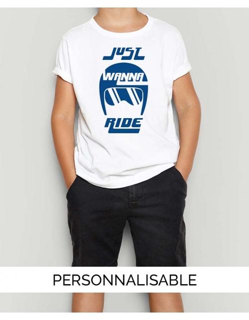 T-shirt Enfant Wanna Ride
