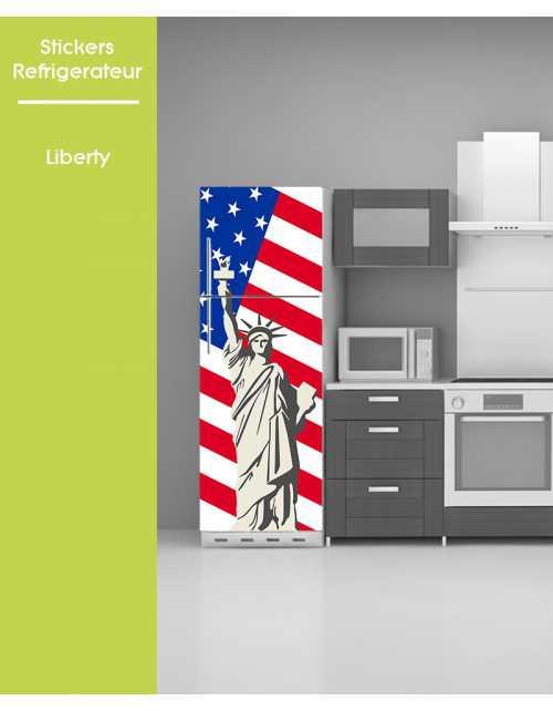Sticker pour frigo - Liberty USA