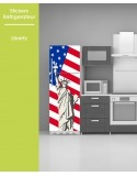 Sticker pour frigo - Liberty USA