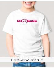 t-shirt fille collection geek Gameuse pilou et lilou