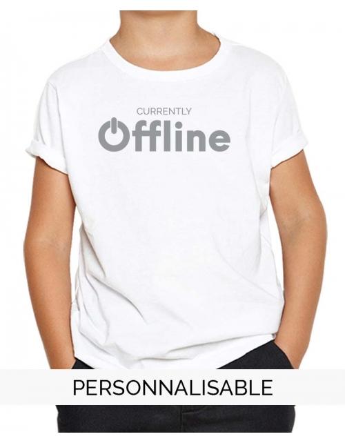 t-shirt enfant offline pilou et lilou