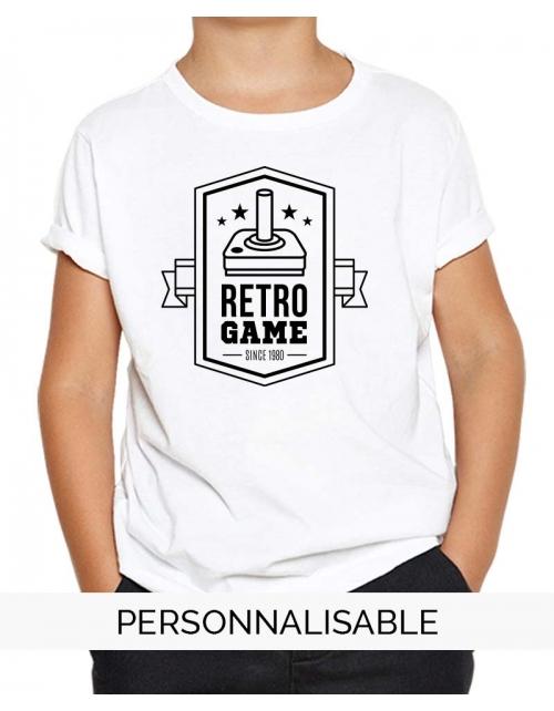 T-shirt enfant Retro game