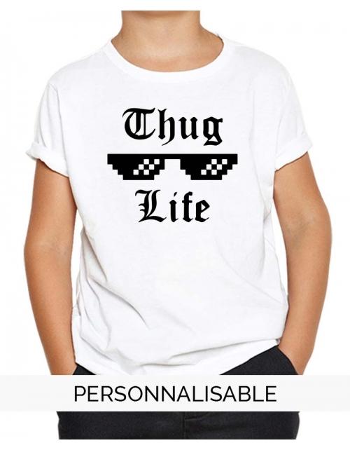 T-shirt enfant Thug Life