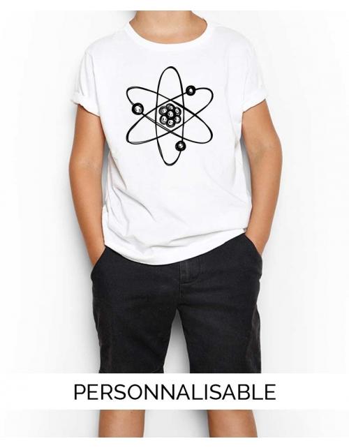 T-shirt enfant atome pilou et lilou
