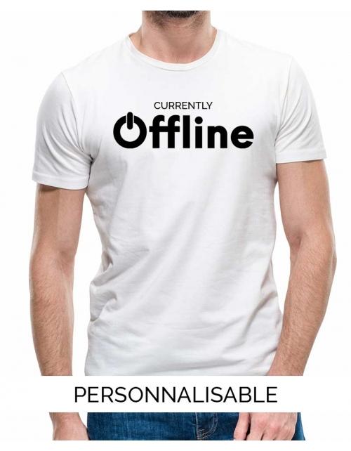 T-shirt homme Offline