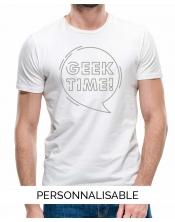 T-shirt homme Geek time pilou et lilou