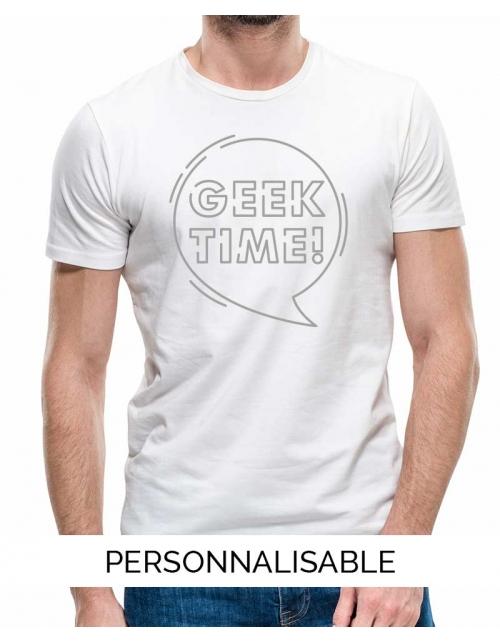 T-shirt homme Geek Time