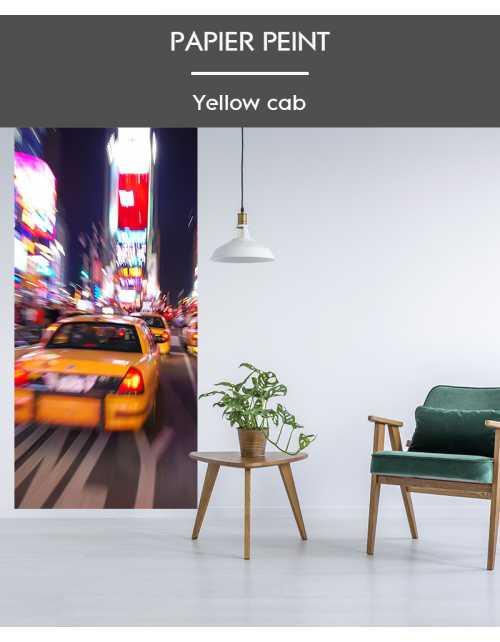 Papier Peint Yellow Cab