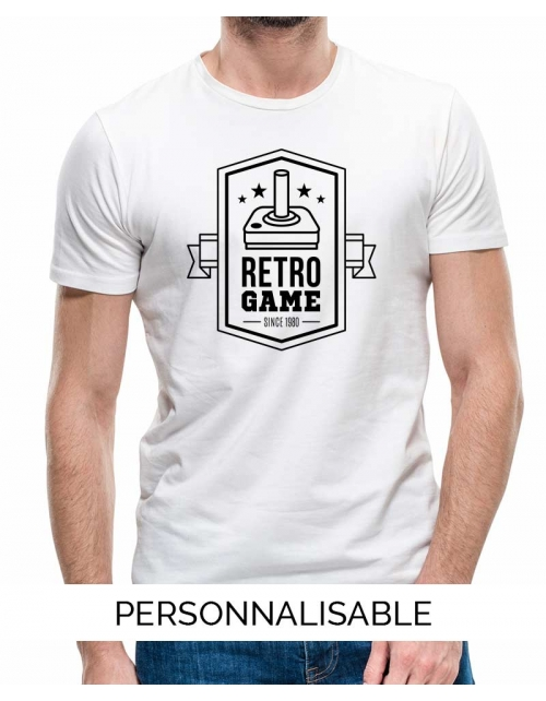 T-shirt homme Retro game