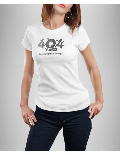 T-shirt femme Erreur 404