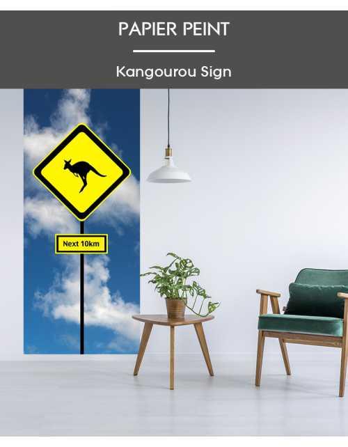 Papier Peint Kangourou