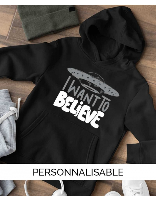Sweat Enfant I want to believe