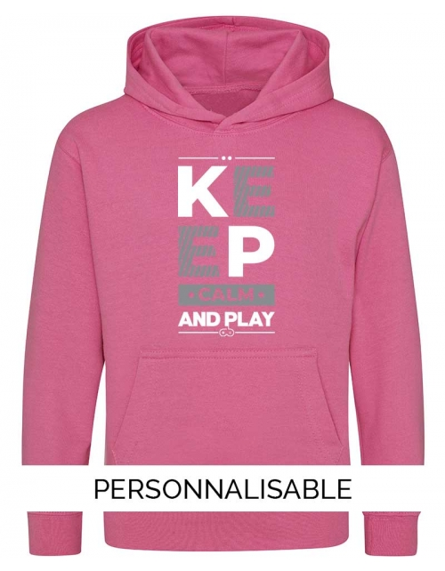 Sweat Enfant Keep calm and play