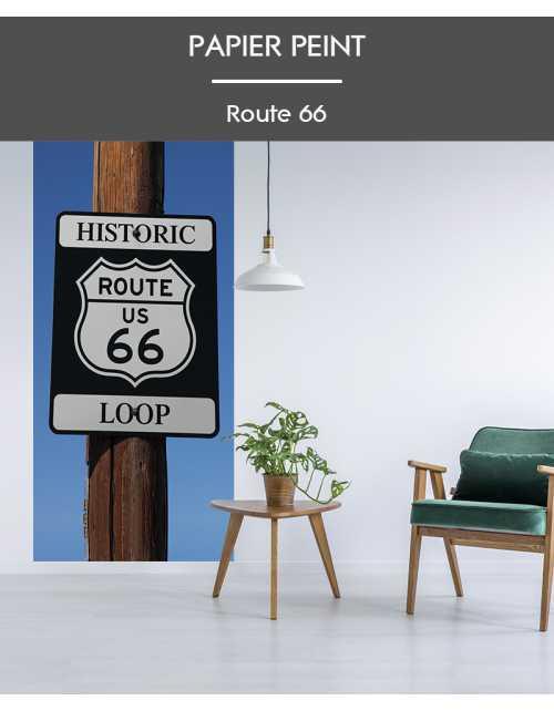 Papier Peint Route 66