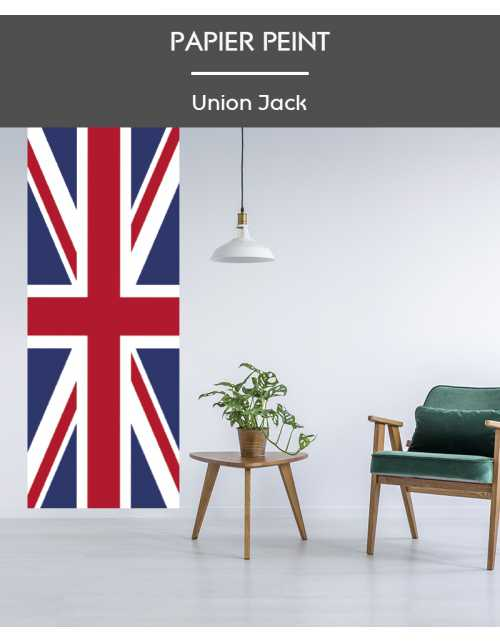 Papier Peint Union Jack