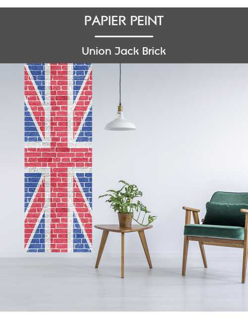 Papier Peint Brick Union Jake