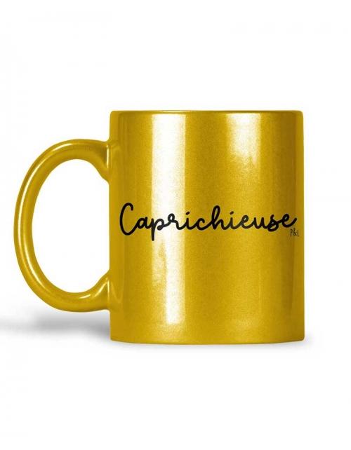 Mug Caprichieuse Métallisé Paillettes