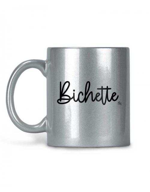 Mug Bichette Métallisé Paillettes