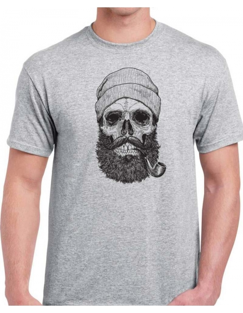 T-shirt Capitaine Skull